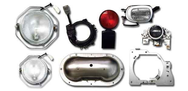 岡田製作所の自動車関連製品