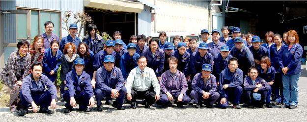 岡田製作所スタッフ一同集合